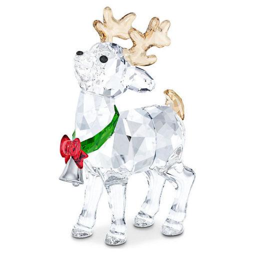 Swarovski figurer Swarovski Santa's Reindeer - 5532575