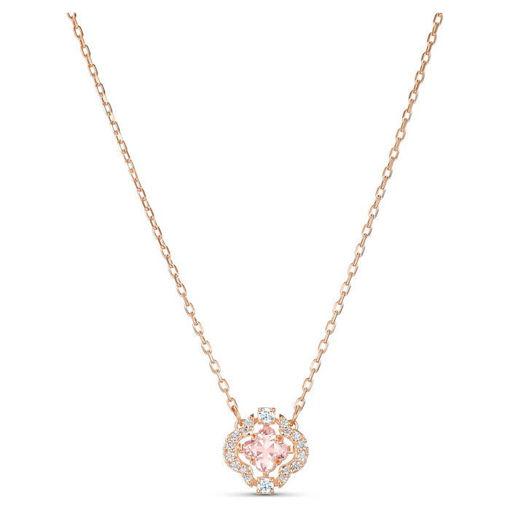 Swarovski smykke Sparkling Dance Clover, rose - 5514488
