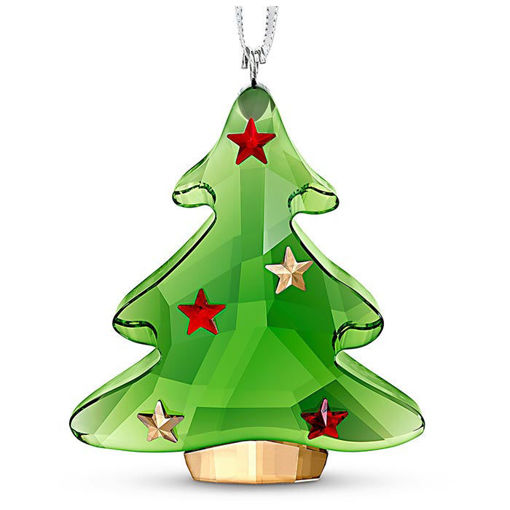 Swarovski figurer Green Christmas Tree Ornament - 5544526