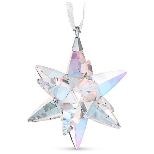 Swarovski figurer Star Ornament, Shimmer, medium - 5545450
