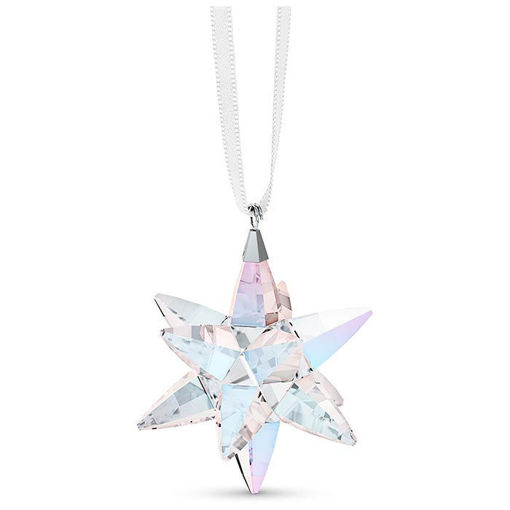 Swarovski figurer Star Ornament, Shimmer, small - 5551837