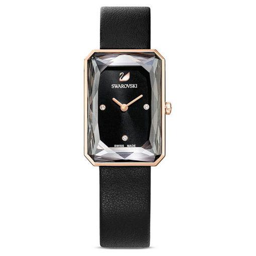 Swarovski klokke Uptown, svart - 5547710