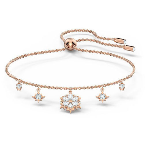 Swarovski armband Magic, Rose-gold tone plated - 5558186
