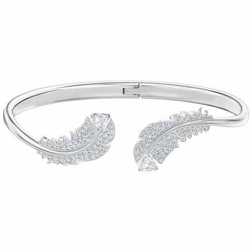 Swarovski armband Nice, hvitt - 5482915