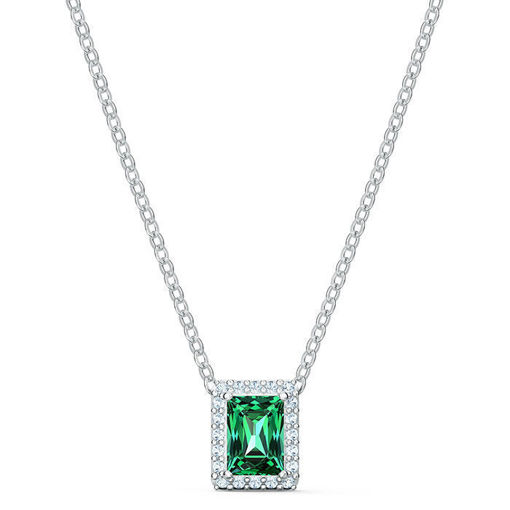 Swarovski smykke Angelic Rectangular, Green - 5559380