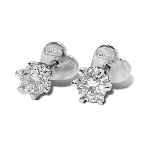 Athene diamant øredobber med 2/0,30 ct E-Si2-219902030