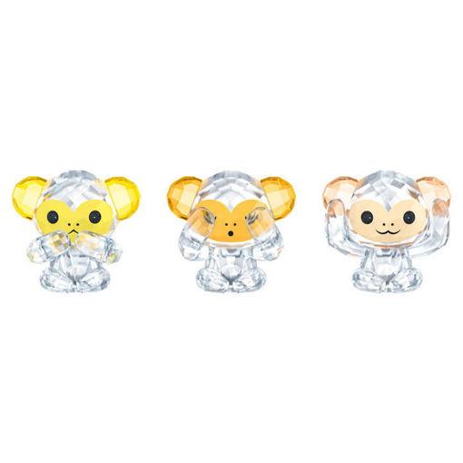 Swarovski figurer Three Wise Monkeys - 5428005
