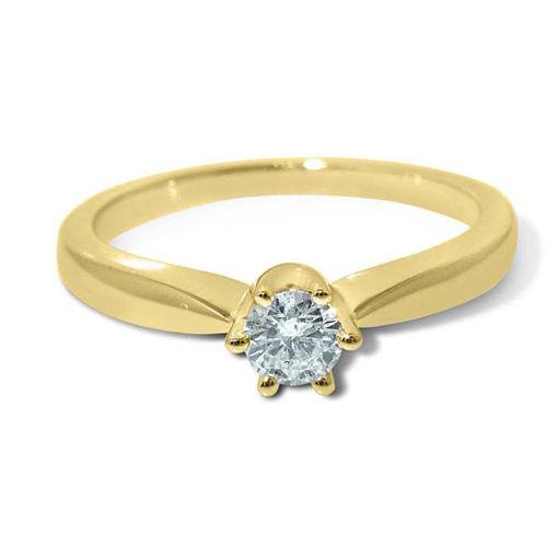 Diamantring forlovelsesring Ida 0,25 ct W-PI - COC0098700
