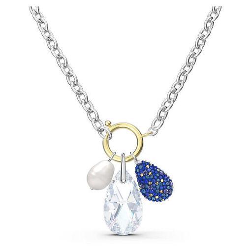 Swarovski smykke The Elements Necklace, Blue, Mixed metal finish - 5563511
