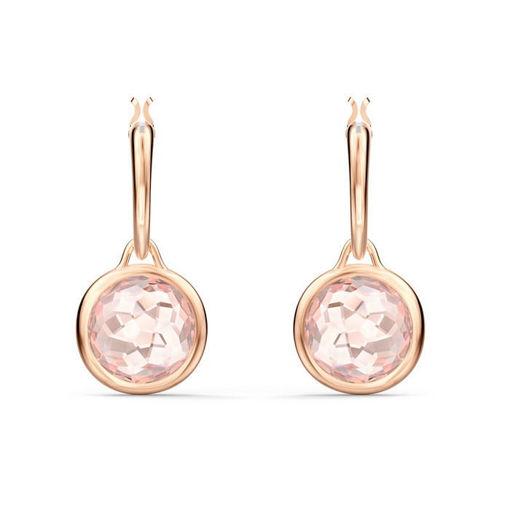 Swarovski øredobber Tahlia Mini, rosa - 5560932