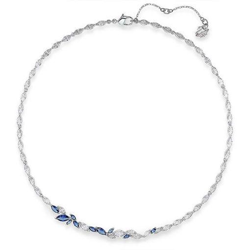 Swarovski collier Louison, blå - 5536547