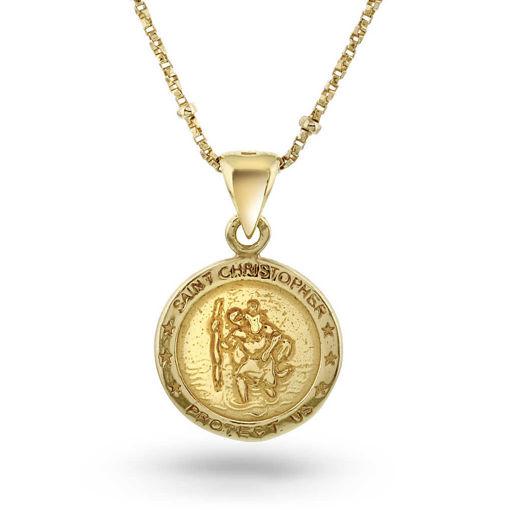 Smykke i sølv Saint Christopher - 990167