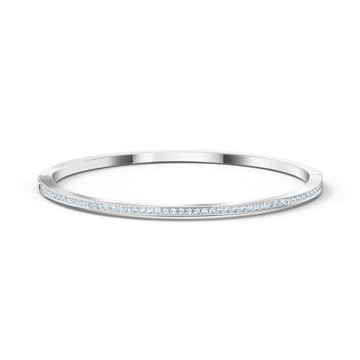Swarovski armbånd Rare Bangle, hvit - 5555723