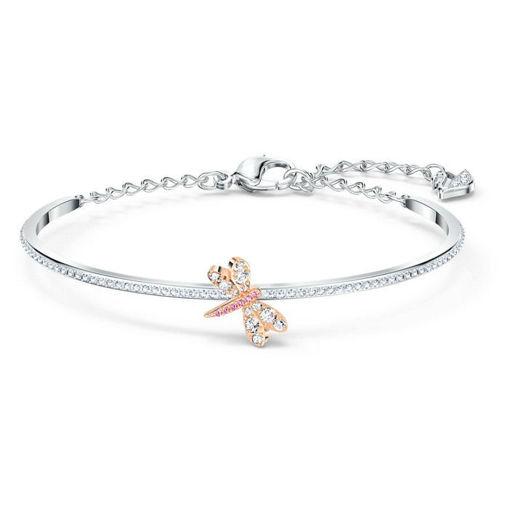 Swarovski armbånd Eternal Flower, rosa - 5518138
