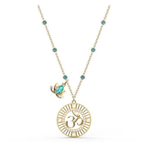 Swarovski smykke Symbolic Lotus, grønn - 5521451