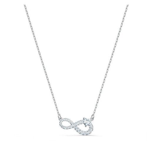 Swarovski smykke Infinity Necklace, hvitt - 5520576