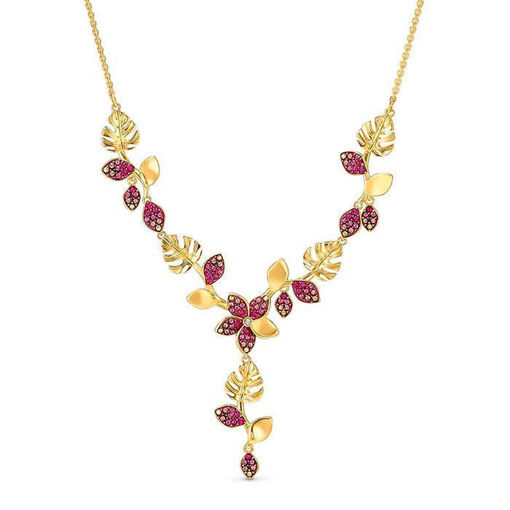 Swarovski smykke Tropical Flower, rose - 5541061