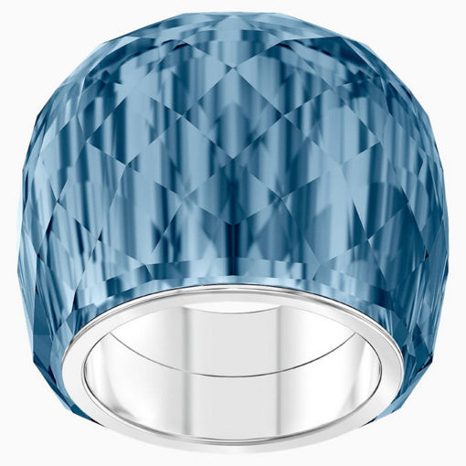 Swarovski ring Nirvana, blue crystal, str 58 - 5474372