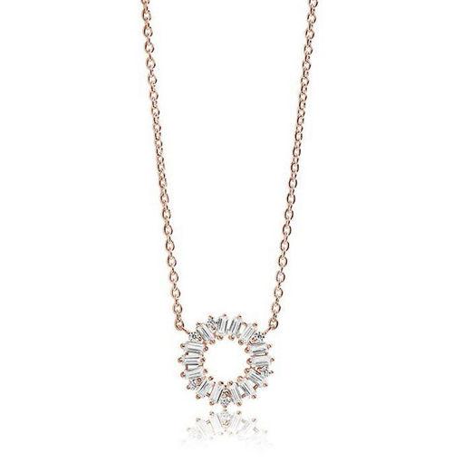 Smykke Antella Circolo i forgylt sølv - SJC0162CZ