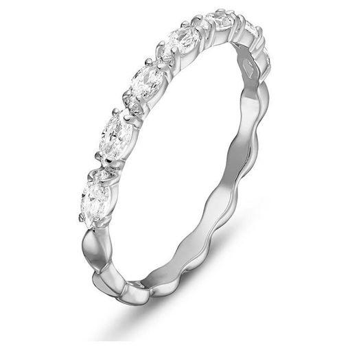 Swarovski ring Vittore Marquise, hvitt - 5366579