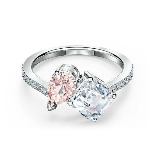 Swarovski ring  Attract Soul, rosa - 5514541