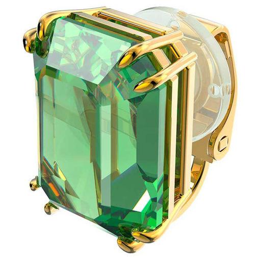 Swarovski øredobber Millenia clip earring Single, green