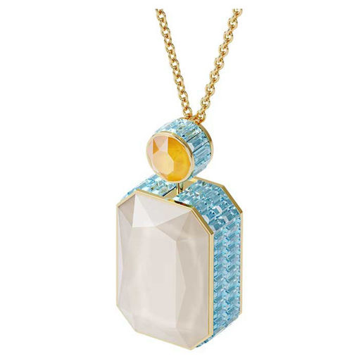 Swarovski smykke Orbita necklace Octagon cut crystal, Multicolored - 5600516