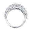 Swarovski Twist Wrap ring White, Rhodium plated - 5580952