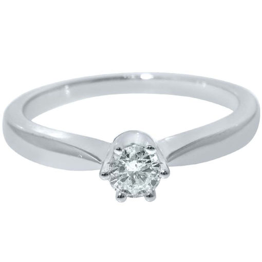 Diamantring forlovelsesring Ida 0,20 ct W-PI - COC009860
