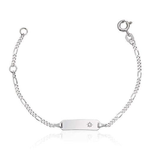 Armbånd i Sølv, 14 cm/plate - 3009614