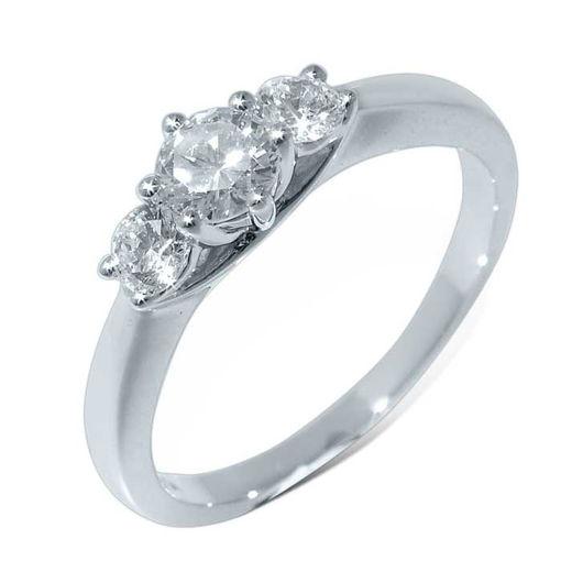 Diamantring forlovelsesring Azur 0,60 ct W-Si - ABR00750 - 2