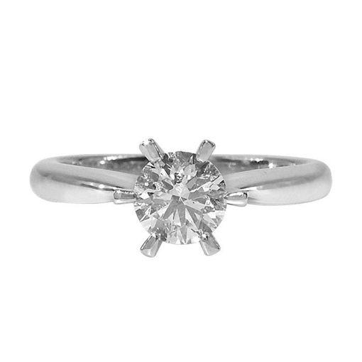 Diamantring forlovelsesring Athene 0,80ct River D-Si1 -50352080-2